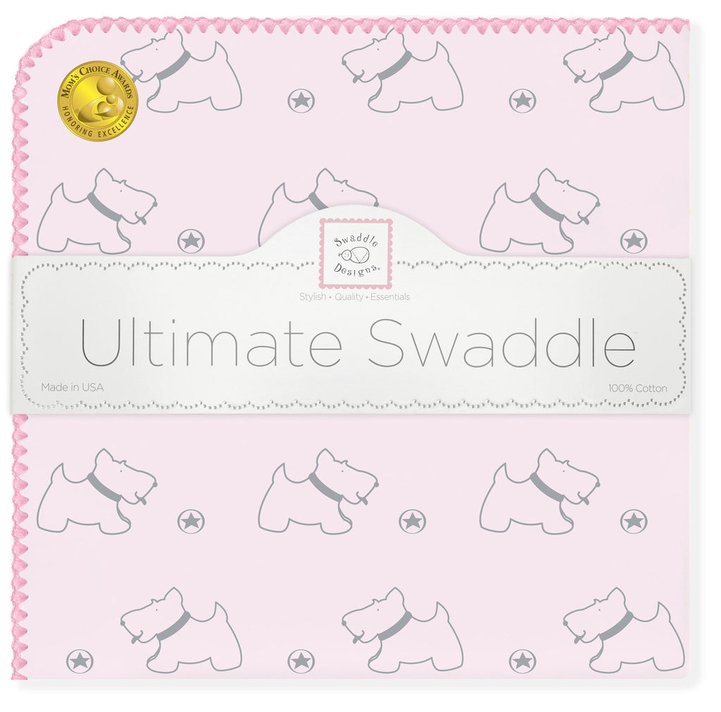 Ultimate Swaddle - Gray Doggie