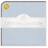 Ultimate Swaddle - Brown Polka Dots