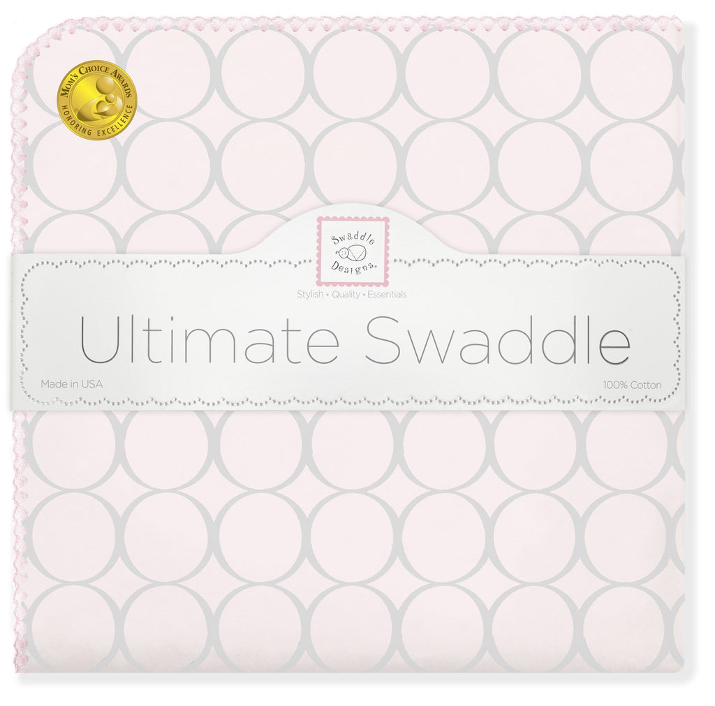 Ultimate Swaddle - Sterling Mod Circles