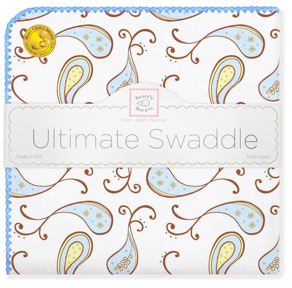 Ultimate Swaddle - Triplets Paisley