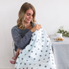 Ultimate Swaddle Blanket - Big Dots, Black