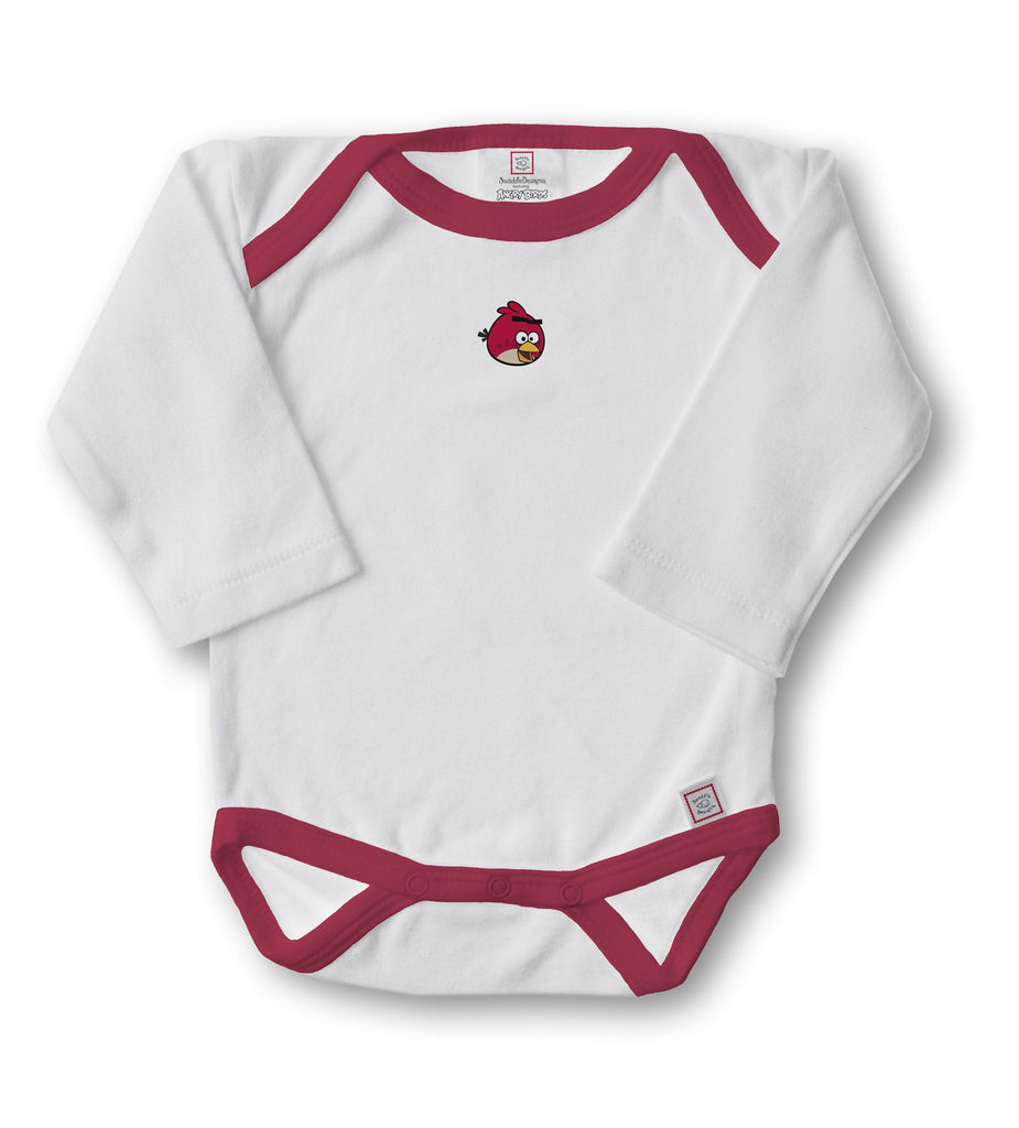 "Angry Birds (1"" Bird) - Long Sleeve Bodysuit"
