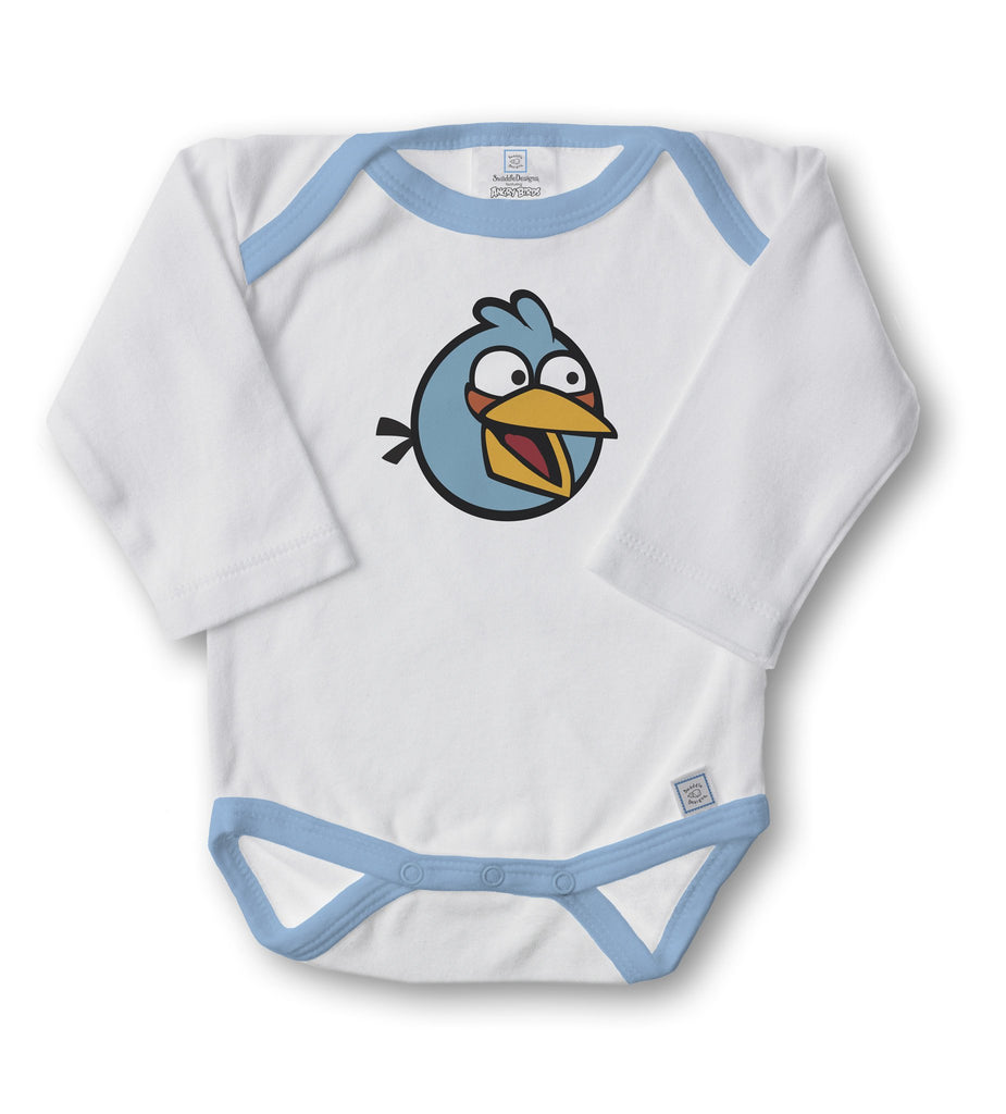 "Angry Birds (3"" Bird) - Long Sleeve Bodysuit"