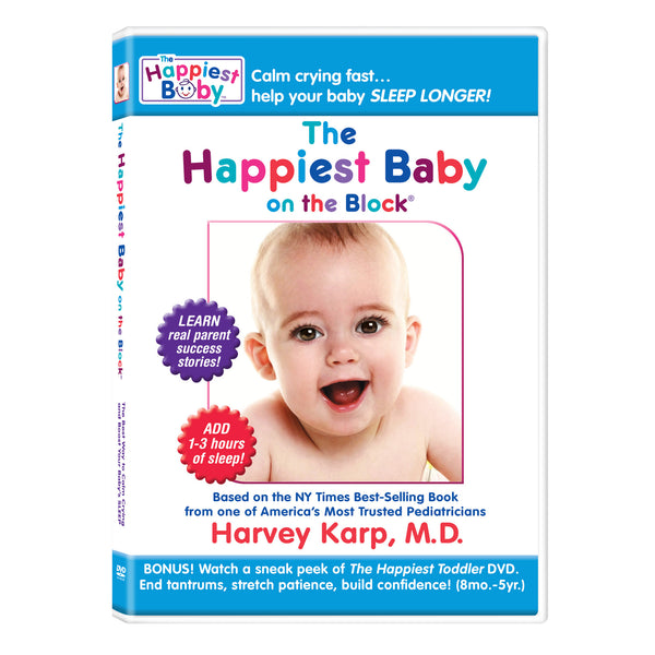The Happiest Baby - DVD featuring Dr. Harvey Karp