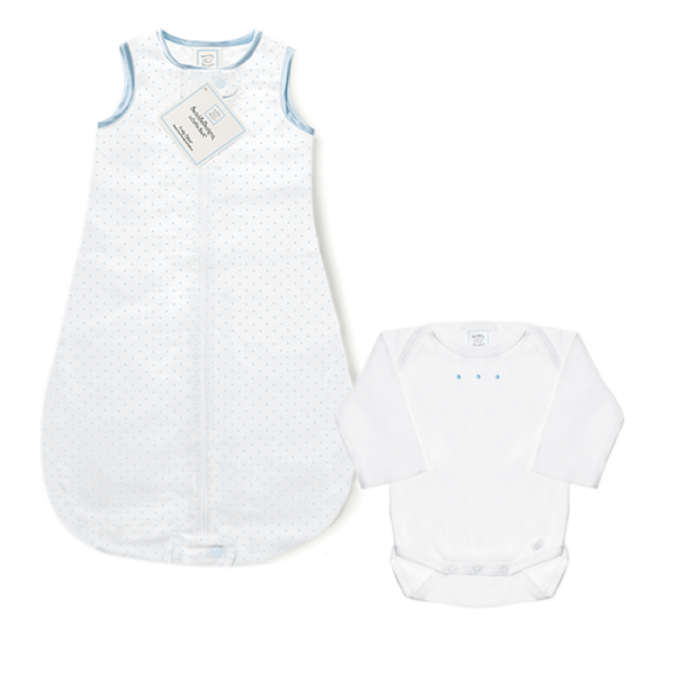 Cotton zzZipMe Sack & Bodysuit Set