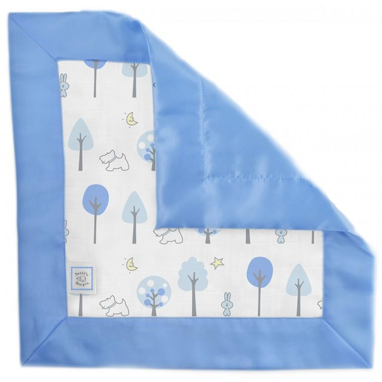 Muslin Single Baby Lovie - Blue Forest