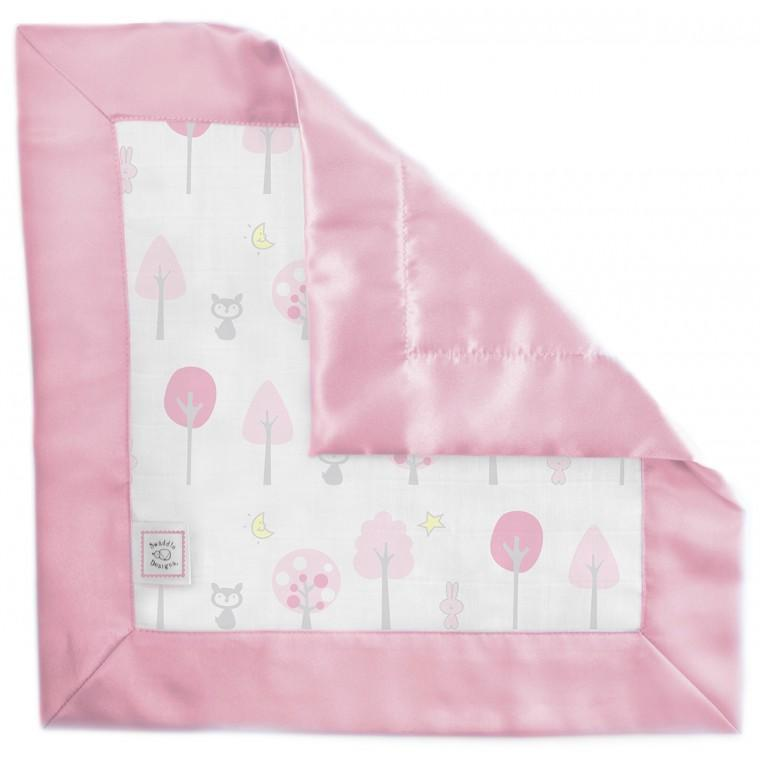 Muslin Single Baby Lovie - Pink Thicket
