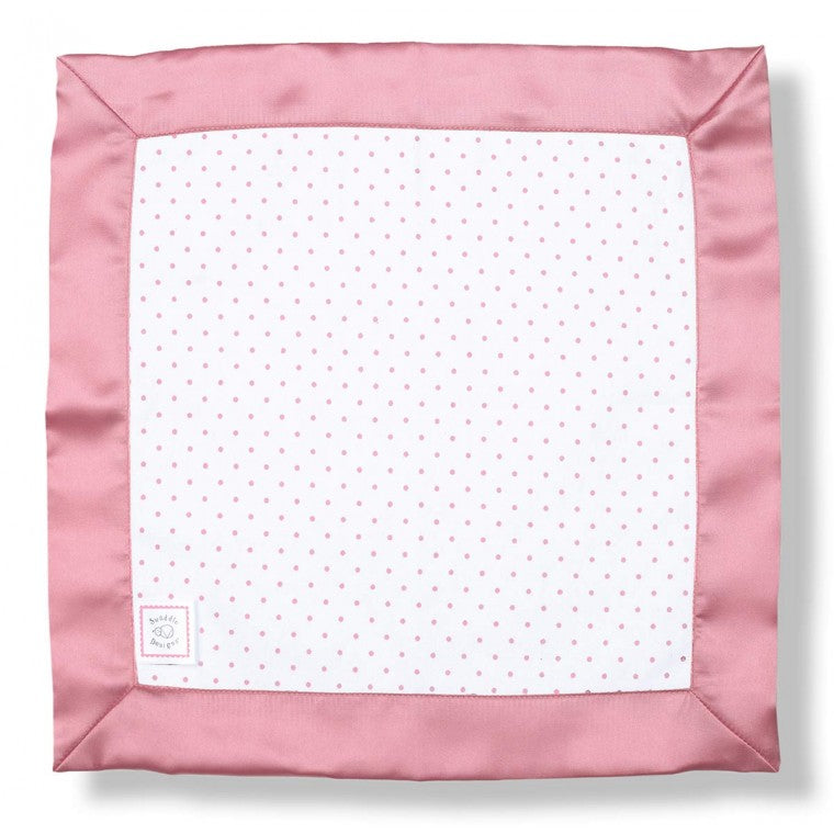 Cotton Baby Lovie - Polka Dots, Pink