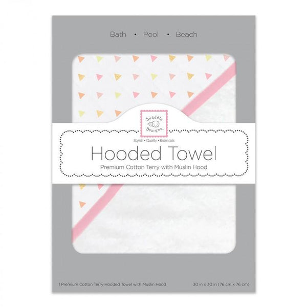 Muslin + Terry Hooded Towel - Shimmer