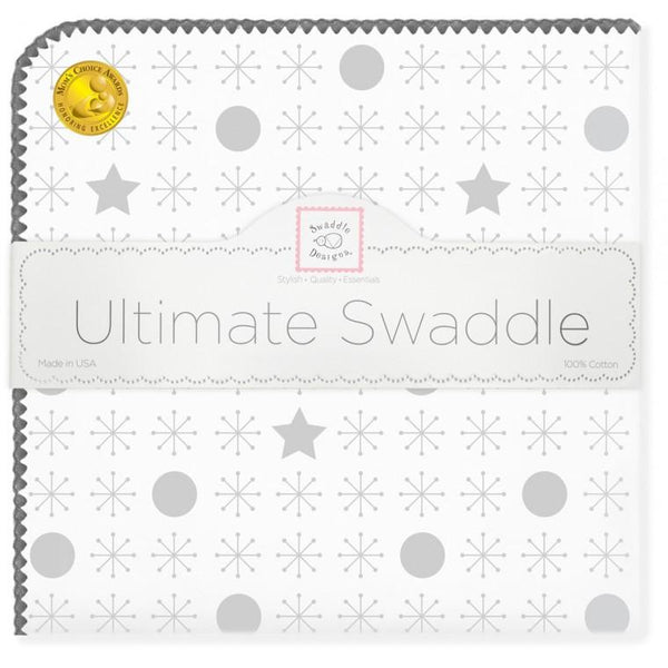 Ultimate Swaddle Blanket - jax & stars & hearts