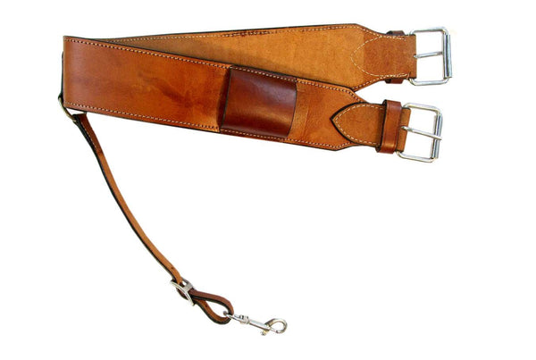 Leather Back Cinch Western Saddle Rear Cinch Flank Western Horse Girth-Horse Palace-Horse Palace-update alt-text with template horse-education-supplements-training-riding-ebook-horse-dvd-guide-to-success-horseman-western-cowboy-cowgirl-stories-horse-safe-health-of-horse-breeding-horse-exercice-unicorn-stories