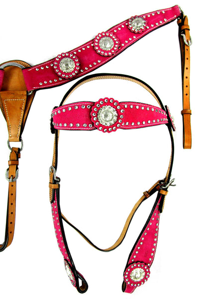 Pink Show Event Trail Western Headstall Breast Collar Set-Horse Palace-Horse Palace-update alt-text with template horse-education-supplements-training-riding-ebook-horse-dvd-guide-to-success-horseman-western-cowboy-cowgirl-stories-horse-safe-health-of-horse-breeding-horse-exercice-unicorn-stories