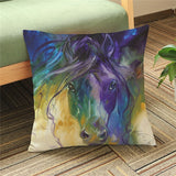 Horse Cushion Cover-Horse Palace-3-Horse Palace-fournitures-bedroom-setting-room-kitchen-horse-figures-statue
