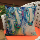 Horse Cushion Cover-Horse Palace-4-Horse Palace-fournitures-bedroom-setting-room-kitchen-horse-figures-statue