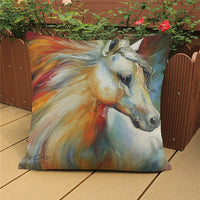 Horse Cushion Cover-Horse Palace-5-Horse Palace-fournitures-bedroom-setting-room-kitchen-horse-figures-statue