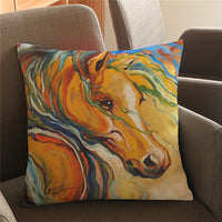 Horse Cushion Cover-Horse Palace-7-Horse Palace-fournitures-bedroom-setting-room-kitchen-horse-figures-statue