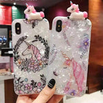Unicorn iPhone Case-Horse Palace-Horse Palace-jewelery-horse-jewelry-horse-lover-jewelry-gifts