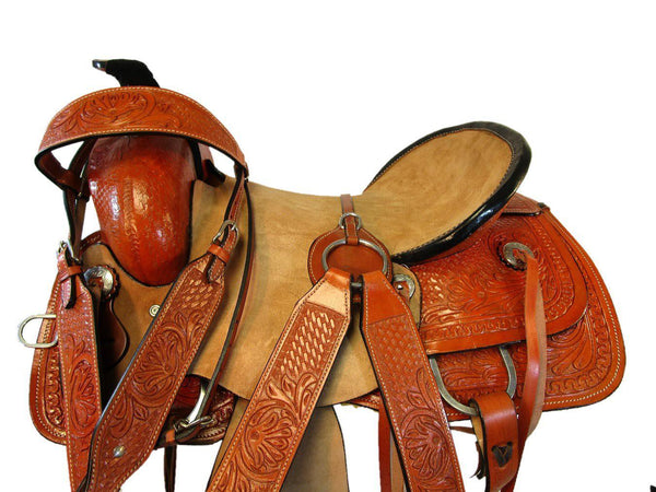 15 16 17 Basket Floral Tooled Roping Cowboy Rodeo Ranch Western Saddle-Horse Palace-15-Horse Palace-update alt-text with template horse-education-supplements-training-riding-ebook-horse-dvd-guide-to-success-horseman-western-cowboy-cowgirl-stories-horse-safe-health-of-horse-breeding-horse-exercice-unicorn-stories