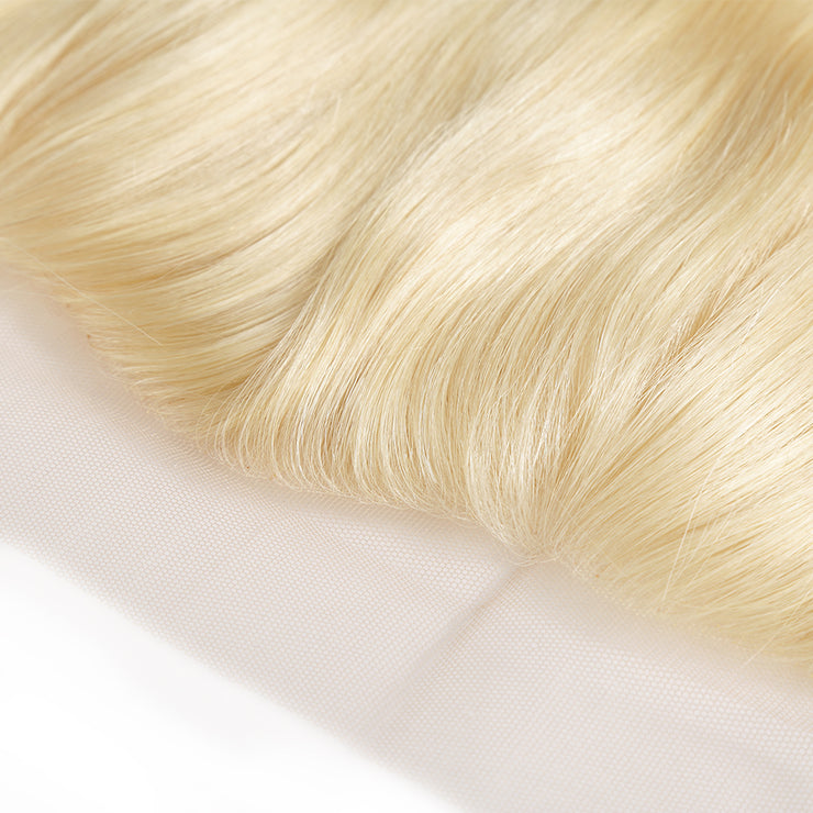 Blonde Bombshell Frontal - Straight