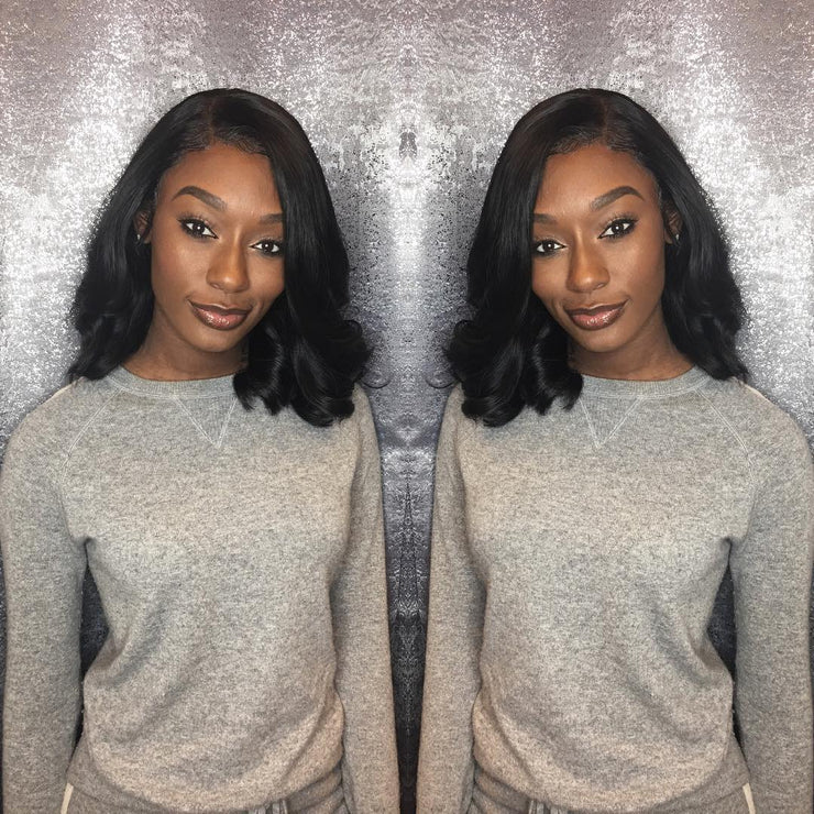 "13""x4"" Transparent Lace Frontal"