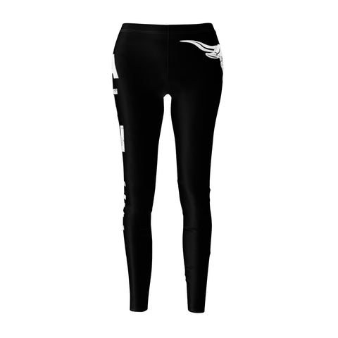Bullstrong Athlete Women's Casual Leggings - Black