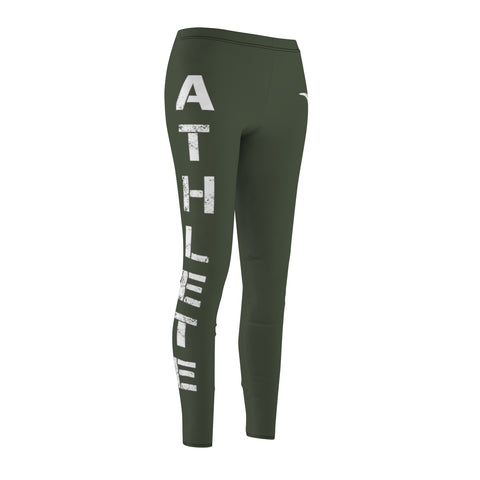 Bullstrong Athlete Women's Leggings- Green
