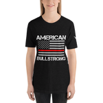 American Bullstrong - Thin Red Line - Short-Sleeve T-Shirt
