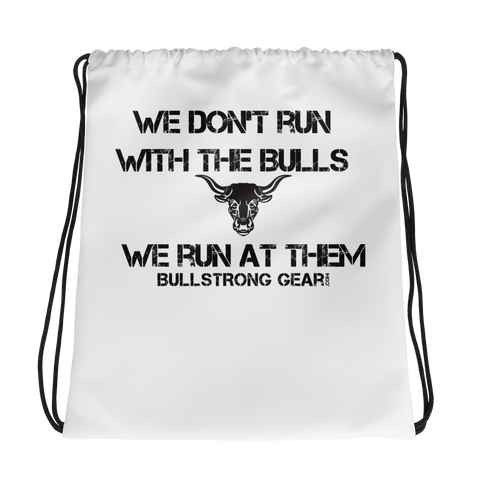 Bullstrong Drawstring bag