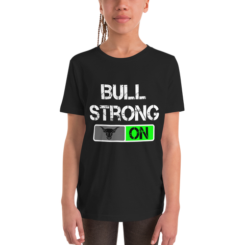 Bullstrong ON - Youth Girl Short Sleeve T-Shirt