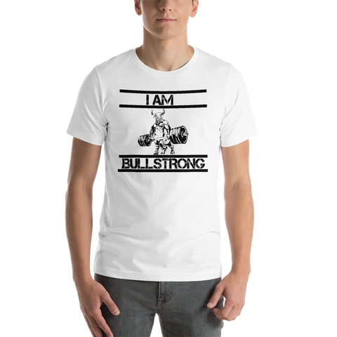 I am bullstrong! - Short-Sleeve Men's T-Shirt