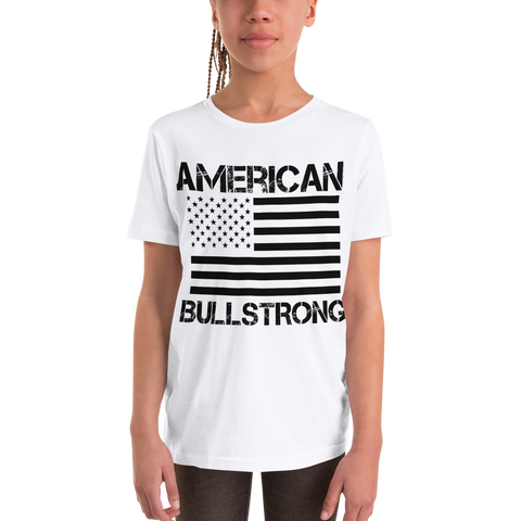 American Bullstrong Youth Girl Short Sleeve T-Shirt