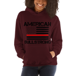 American Bullstrong - Thin Red Line - Hooded Sweatshirt