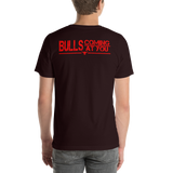 Yo Soy Crossfitero / Bulls Coming At You - Short-Sleeve Unisex T-Shirt (Red Lettering)