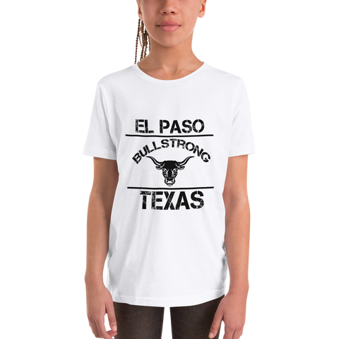 Bullstrong El Paso - Youth Girl Short Sleeve T-Shirt