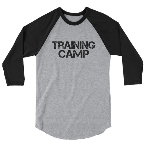 Training Camp 3/4 sleeve raglan shirt
