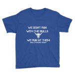 Run At Them - Youth Short Sleeve T-Shirt