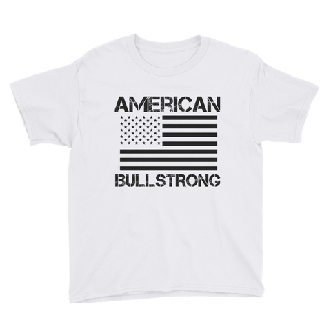 American Bullstrong - Youth Boy Short Sleeve T-Shirt