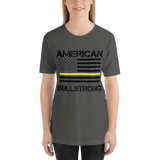 American Bullstrong - Thin Yellow Line - Short-Sleeve T-Shirt