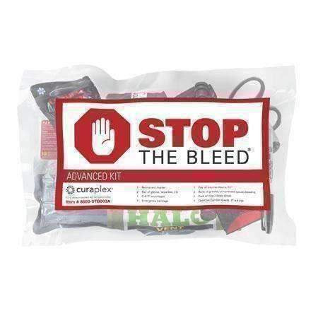 Curaplex,Curaplex Stop the Bleed Kit - Individual - Advanced,medic-packs.