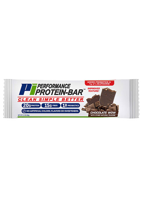 Performance Inspired Protein Bar -  Chocolate WOW (Box of 12), 27.2 Oz