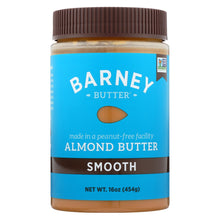 Load image into Gallery viewer, Barney Butter - Almond Butter - Smooth - Case Of 6 - 16 Oz.