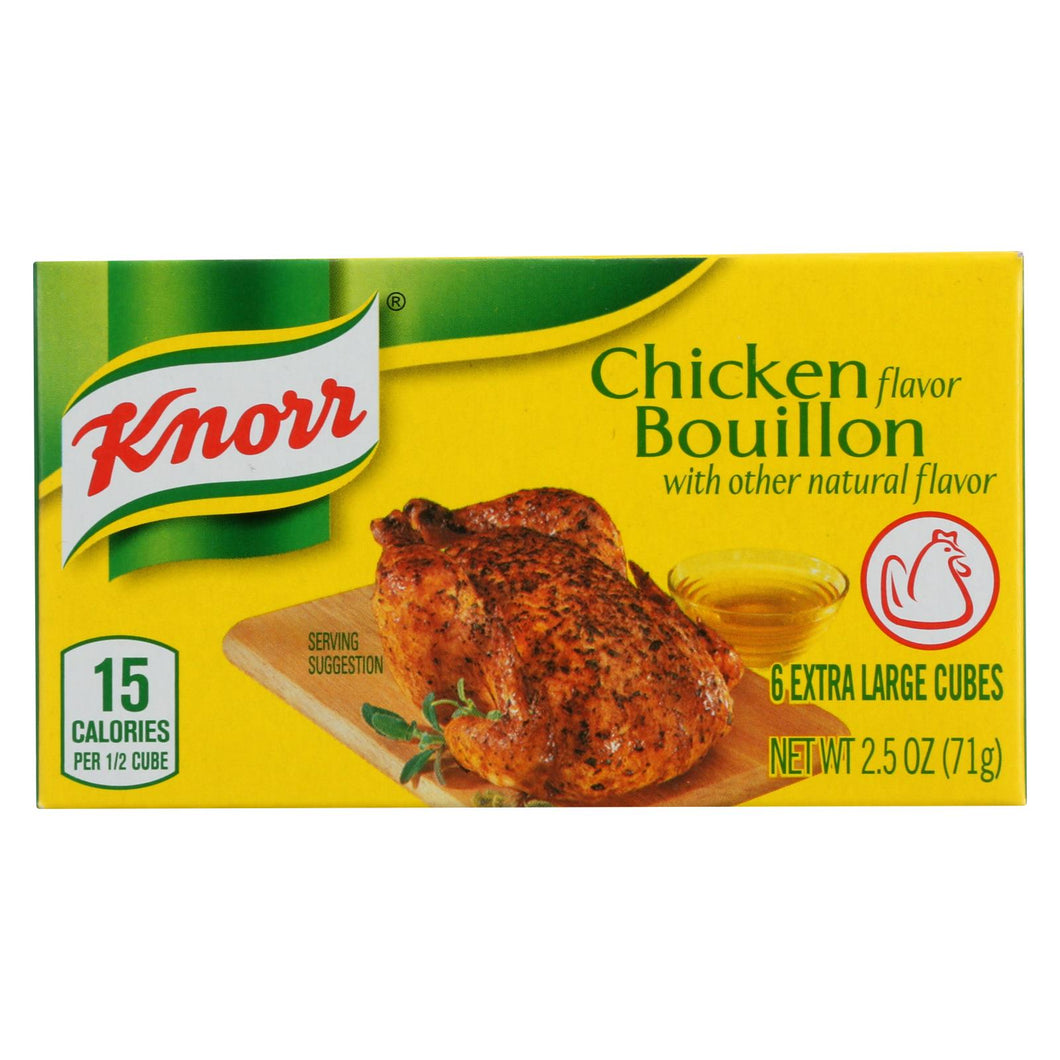 Knorr Bouillon Cubes - Chicken - Extra Large - 2.5 Oz - Case Of 24