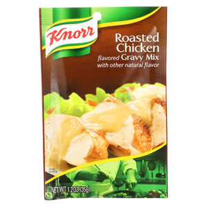 Knorr Gravy Mix - Roasted Chicken - 1.2 Oz - Case Of 12