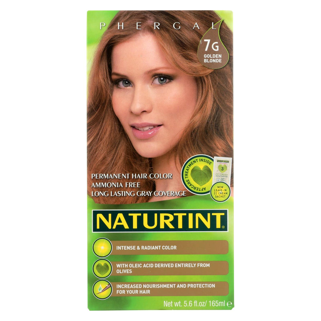 Naturtint Hair Color - Permanent - 7g - Golden Blonde - 5.28 Oz