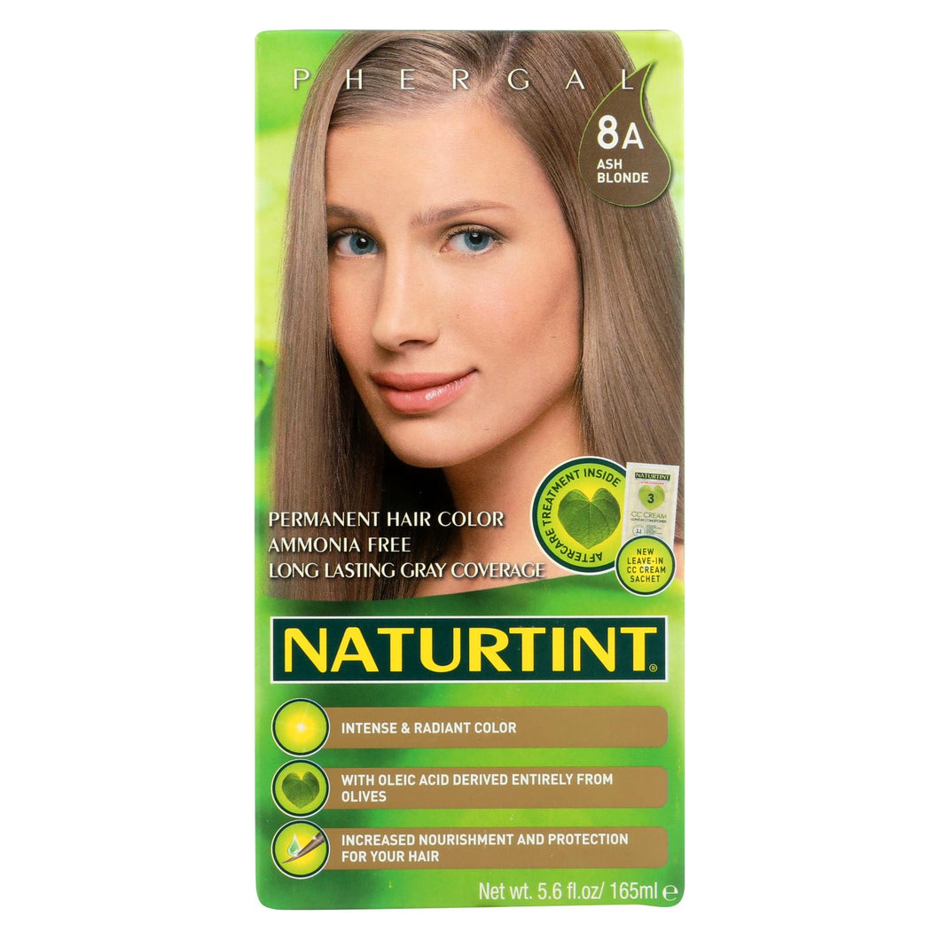 Naturtint Hair Color - Permanent - 8a - Ash Blonde - 5.28 Oz