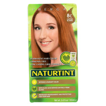 Load image into Gallery viewer, Naturtint Hair Color - Permanent - 8c - Copper Blonde - 5.28 Oz