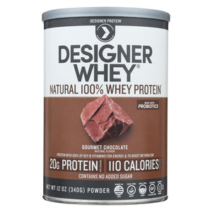 Designer Whey - Protein Powder - Chocolate - 12.7 Oz