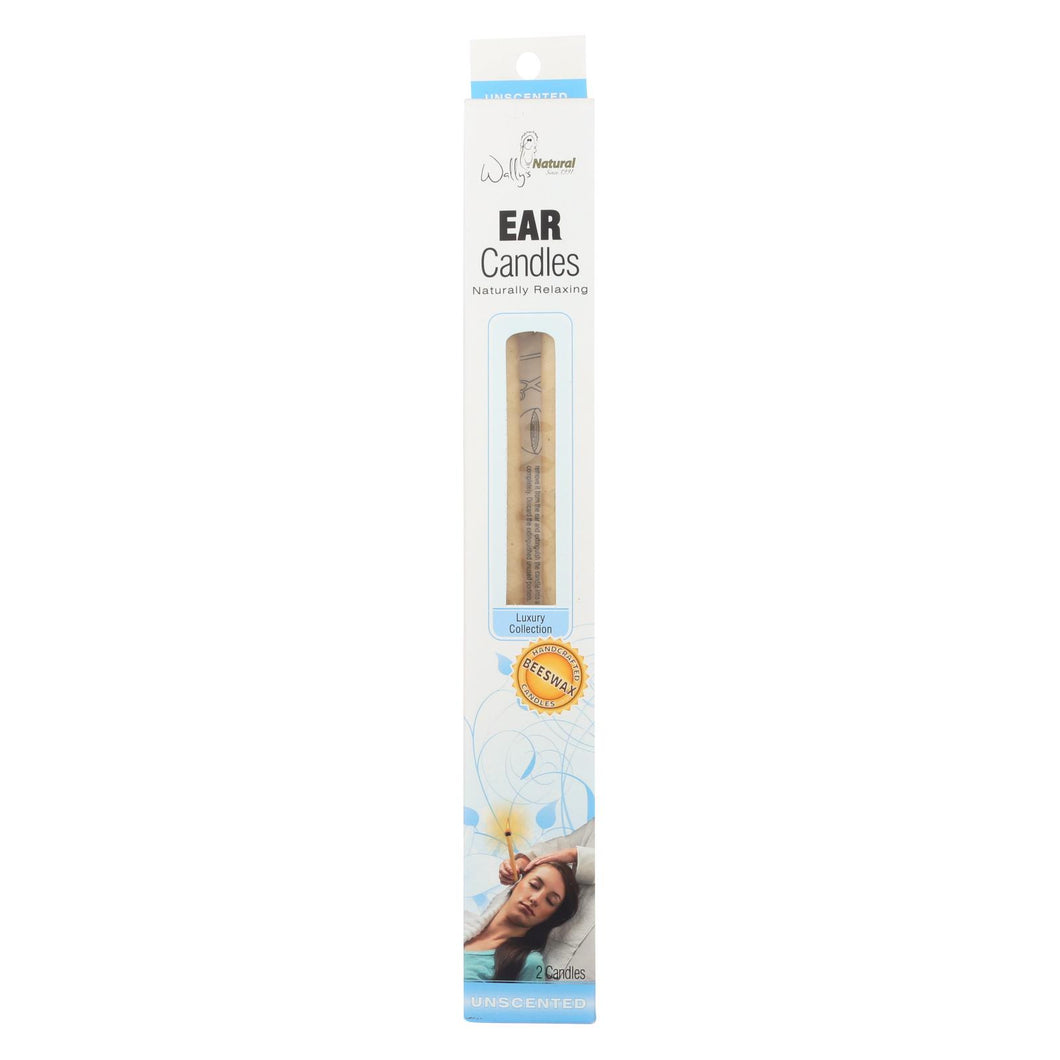 Wally's Beeswax Ear Candle - 2 Candles