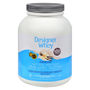 Designer Whey - Protein Powder - French Vanilla - 4 Lbs