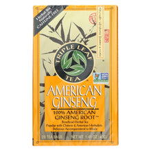 Load image into Gallery viewer, Triple Leaf Tea American Ginseng - Caffeine Free - Case Of 6 - 20 Bags